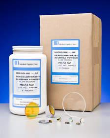 Alumina abrasive powders from Meller Optics, Inc.
