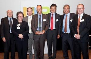 Soitec wins NXP Best Supplier Award 2011