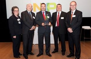Compugraphics International 2011 NXP Best Supplier Quality