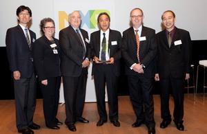 Tanaka Kikinzoku International wins NXP 2011 Best Supplier Award