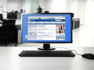 IronKey's online banking security platform