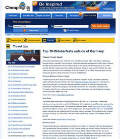 Cheapflights.ca Top 10 Oktoberfests Outside of Germany