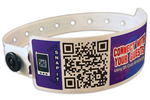 QR Code Wristbands from Precision Dynamics