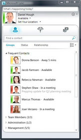 Lync instant messaging, conferencing and collaboration service delivered by Intermedia