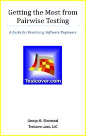 Testcover.com booklet: Getting the Most from Pairwise Testing