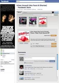 Nimbit MyStore on Faust & Shortee's Facebook Page