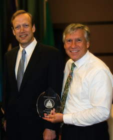 Lee Wojnar, Northwest Credit Union Association's 2011 Advocate of the Year