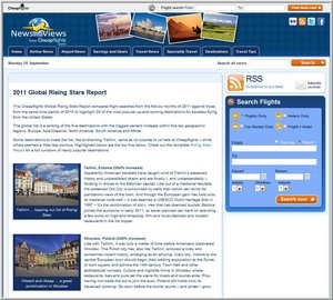 Cheapflights.com's 2011 Global Rising Stars Report