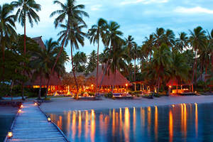 Jean-Michel Cousteau Fiji Islands Resort receives a World Travel Award.
