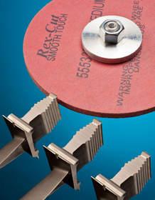 Rex-Cut Cotton Fiber Type 1 Abrasive Wheels