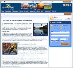 Cheapflights.com's Top 10 Hot Air Balloon Trip for Foliage Season