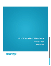 Healthx, healthcare IT, provider portals, healthcare portal, HR communications technology