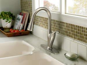 Moen Benton Pulldown Kitchen Faucet