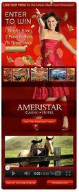 Ameristar Facebook,luxurious hotel,Ameristar social media,vacation promotion,free night stay,casino