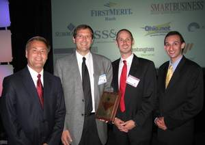 AtNetPlus Celebrates at 2011 Cascade Capital Business Growth Awards