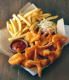 Applebee's will serve Double Crunch Shrimp on Veterans Day, where all veterans and active duty military eat for free on Friday, November 11, 2011.