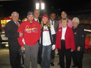 Crystal Skaggs - St. Louis Cardinals Designated Driver for the Season