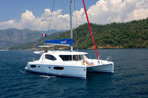 Sunsail 444 (Leopard 44) Catamaran Named  2012 Boat of the Year Nominee