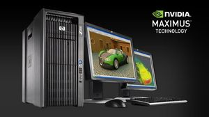 HP Z800 NVIDIA Maximus-powered workstation