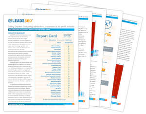 New Leads360 Research Finds Flaws in Higher Education Admissions and Enrollment Processes