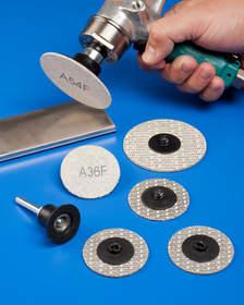 Rex-Cut(R) Cotton Fiber Quick Change Discs