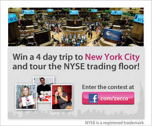 Win a trip to NYC and the NYSE
