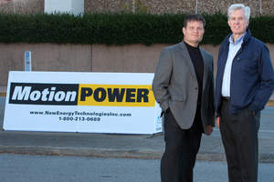 CEO & President of New Energy, John Conklin; Lead Engineer, Jerry Lynch