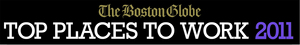 DataXu named one of Boston Globe's 2011 Top Places to Work in Massachusetts