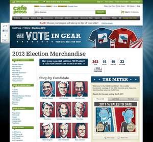 cafepress, 2012, election, t-shirt, obama, cain, perry, bachmann, romney, paul, custom, anti