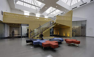 Maricopa County Community College, Paradise Valley, Building Q, SmithGroup, Phoenix, learning spaces