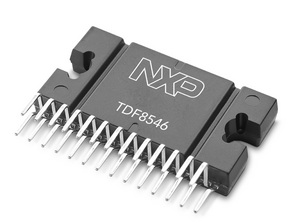 NXP TDF8546 Class-AB automotive audio amplifier