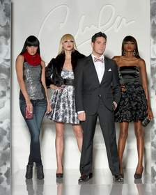 Christopher Straub from Lifetime's Project Runway launches his exclusive collection for maurices.