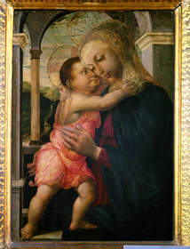 Botticelli masterpiece from Uffizi Gallery, Florence, Italy