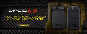 OtterBox Defender Series & Commuter Series Cases for DROID RAZR by Motorola