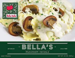 Bella Italia, Bella's Mushroom Ravioli, Twilight, Edward, Vampire, Port Angeles, Forks
