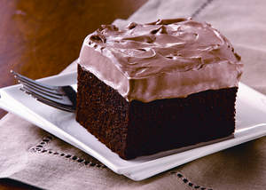 Chocolate Maple Cake with Chocolate Maple Mousse