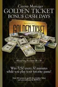 Casino Manager Bonu$ Cash Days