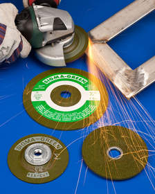 Rex-Cut(R) Sigma Green Grinding Wheels