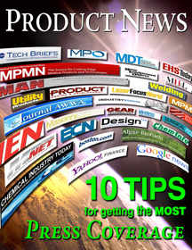 Product News- 10 Tips for Getting the Most Press Coverage
