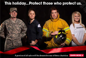 Protect Those Who Protect Us: OtterBox Donates to Charities for Holidays