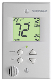 Venstar's new FlatStat(TM) series of residential thermostats