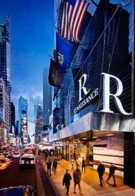 Luxury hotels at Times Square in New York