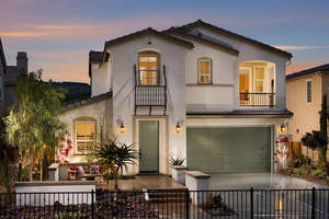 4 bedroom Carlsbad homes, La Costa new homes, new La Costa homes, San Diego homes