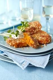 Almond Pumpkin Fritters