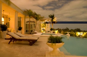 Photo of a beachfront villa in Turks and Caicos