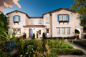 new Azusa townhomes, new 2-story Azusa homes, Rosedale new townhomes