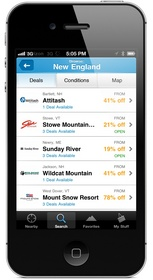 Liftopia Ski Reports, Snow Conditions and Ultimate Lift Ticket Deal Engine App Ski