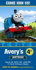 From The Thomas Friends Birthday Invitation Collection At Simplytoimpress