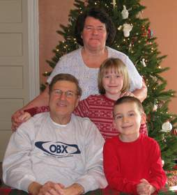 SynCardia Total Artificial Heart patient Jack Miller was able to enjoy Christmas at home last month with his wife Mary Lou and their grandchildren, 8-year-old Emma and 5-year-old Matthew, while waiting for a matching donor heart.