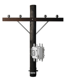 Cisco's new smart grid solution is ruggedized for the harsh utility environment and can be mounted directly on a utility poletop.